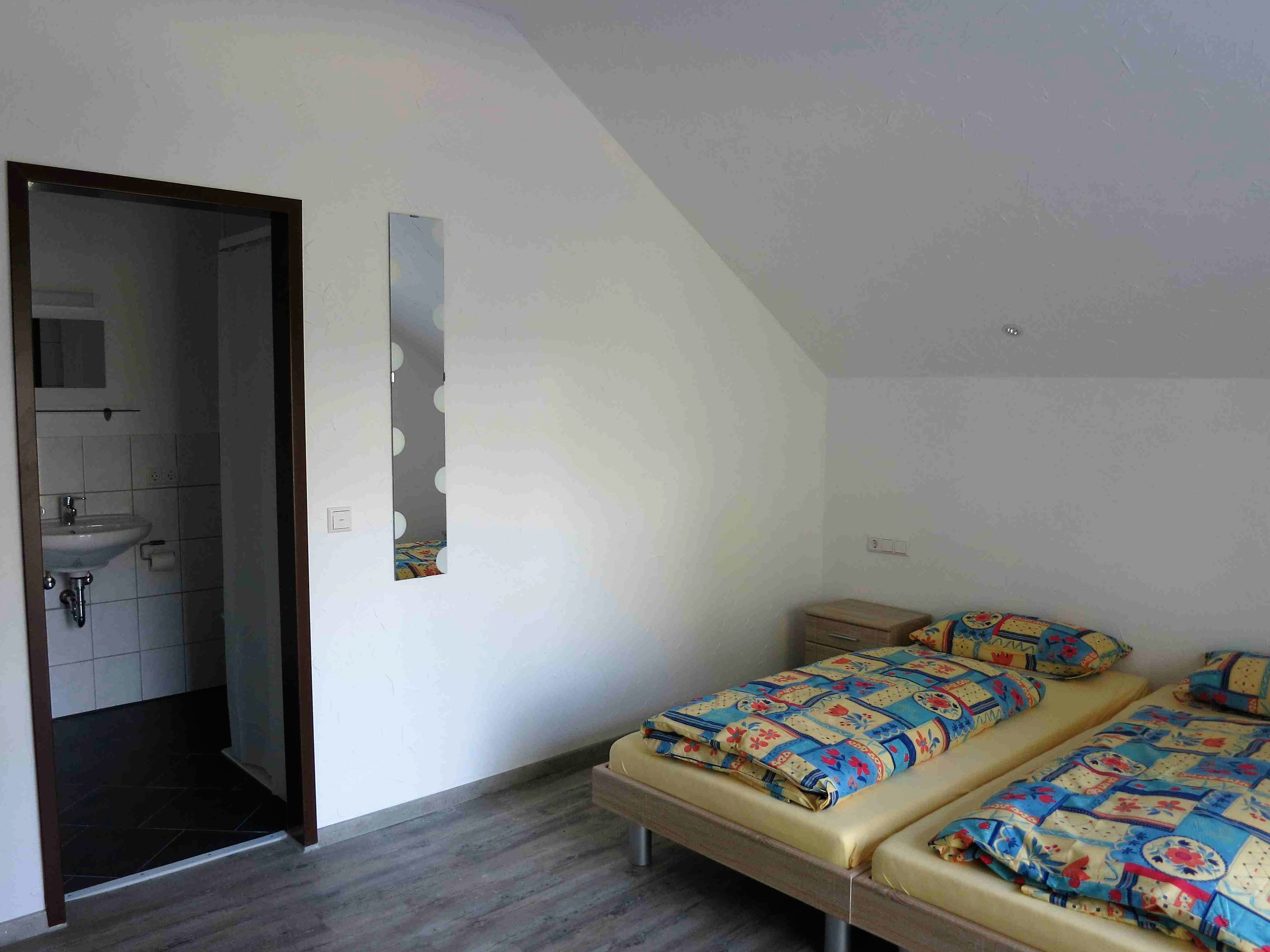 Doppelzimmer mit DU/WC